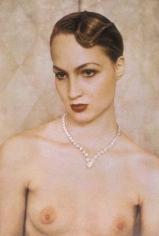 Diamond Necklace, Vogue, 1984, 19 x 13 Fresson Print