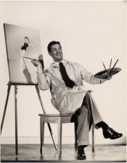 "Bob Cummings ""The Petty Girl,"" 1950, 13-7/16 x 10-7/16 Vintage Silver Gelatin Photograph"