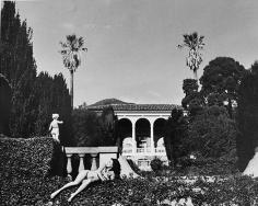 Teri Rojas (Laying on Hedge), Santa Barbara, 1984