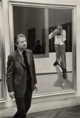 Francis Bacon, Metropolitan Museum of Art, 1975, Silver Gelatin Photograph