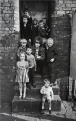 Bob Dylan with Children on Steps, Liverpool, England, 1966, 14 x 11 Silver Gelatin Photograph
