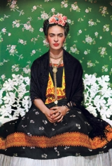 Frida-White Bench, 1933, 22 x 17 Carbon Pigment Color Photograph, Ed. 30