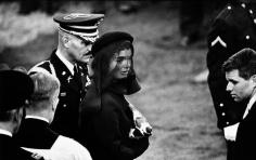 Jacqueline Kennedy, Arlington, 1963, 16 x 20 Silver Gelatin Photograph