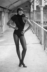 Naomi Campbell, Paris, 1988
