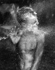 Water Fight, Hither Hills, 20 x 16 Silver Gelatin Photograph