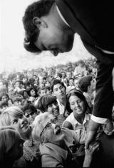 Robert Kennedy Campaign, New York, 1963, Silver Gelatin Photograph