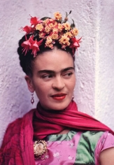 Frida in Pink and Green Blouse, 1938, 22 x 18 Carbon Pigment Print, Ed. 30