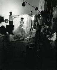 Audrey Hepburn - Wide shot of the Paramount Portrait Gallery, 1953