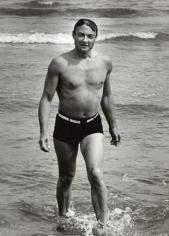 Roy Lichtenstein, Venice, 1962, Silver Gelatin Photograph