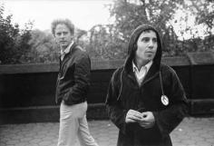 Simon and Garfunkel, New York, 1967, Silver Gelatin Photograph