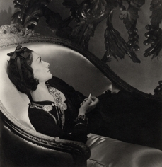 Coco Chanel, Paris, 1937, 24 x 20 Silver Gelatin Photograph
