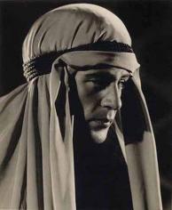 Gary Cooper, c. 1930s, 13-7/8 x 10-7/8 Vintage Silver Gelatin Photograph
