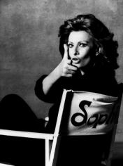 Sophia Loren (Director's Chair), Rome, 1994, 17 x 11 Archival Pigment Print