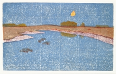 Arthur Wesley Dow (1857-1922), Marsh Creek, about 1914