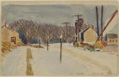 Oscar Bluemner (1867-1938), New York City, 170th Street, 1910
