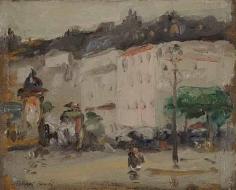 Robert Henri (1865-1929), Paris Bouleard, circa 1898