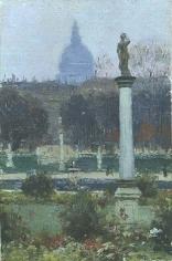 Abbott Fuller Graves (1859-1936), Luxembourg Gardens, circa 1885
