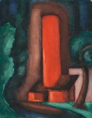 Oscar Bluemner (1867-1938), Mystic Mood, circa 1928
