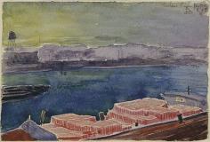 Oscar Bluemner (1867-1938), Harlem River, 1911