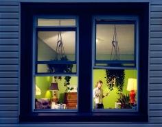 gail albert halaban Out My Window Prospect-Lefferts Gardens Brooklyn Painting the Walls