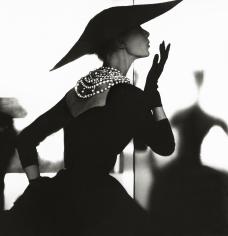 Lillian Bassman, Blowing Kiss, Barbara Mullen, New York, Harper's Bazaar, c. 1958