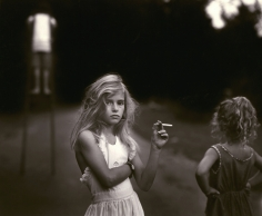 Sally Mann, Candy Cigarette, 1989