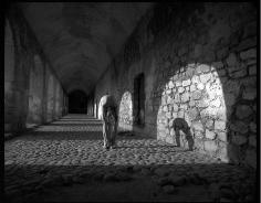 Arno Rafael Minkkinen A Man and His Dog Ex-Convento de Santiago Cuilapan de Guerrero Mexico