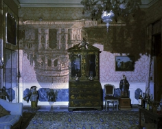 Abelardo Morell Camera Obscura of Santa Maria della Salute Inside Palazzo Livingroom Venice Italy