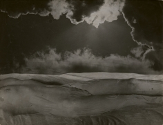 Erwin Blumenfeld, Untitled (landscape with clouds)
