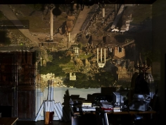 Abelardo Morell Camera Obscura View of the Roman Forum in City Hall Office