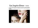 LA Times on Elinor Carucci's 'Mother'