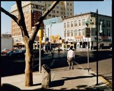 Stephen Shore El Paso Street El Paso Texas July