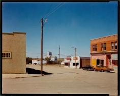 Stephen Shore Main Street Gull Lake Saskatchewan August