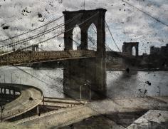 abelardo morell tent camera image on ground rooftop view of the brooklyn bridge