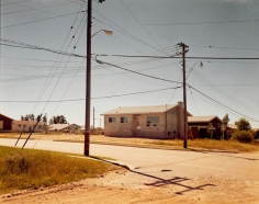Stephen Shore, Wilde Street and Colonization Avenue, Dryden, Ontario, August 15, 1974
