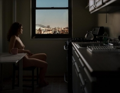 gail albert halaban Out My Window Astoria Queens Bridges at Night