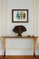 Aline Hazarian,Aramaz, Console, Polished and Patinated Bronze, France, 2016