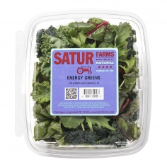 Energy Greens in Retail Clamshell Pack