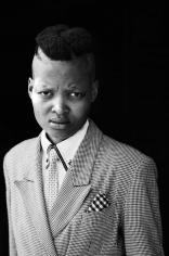 Vuyelwa Vuvu Makubetse Daveyton Johannesburg, from the series Faces & Phases, 2013, Gelatin Silver Print, 30 x 19 3/4 inches