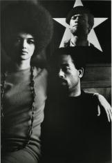 Gordon Parks, Eldridge Cleaver and His Wife, Kathleen, Algiers, Algeria, 1970, gelatin silver print