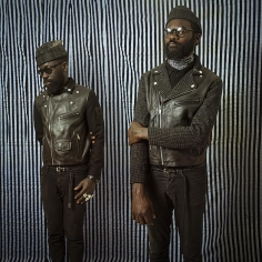 Omar Victor Diop, Art Comes First, 2016, inkjet print, 35.4 x 35.4 inches
