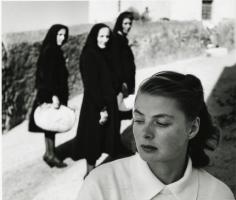 Gordon Parks, Ingrid Bergman at Stromboli, Stromboli, Italy, 1949, gelatin silver print