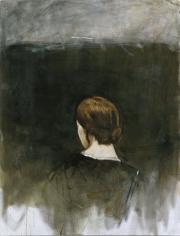 AXEL GEIS Rückenansicht eines weiblichen Kopfes
