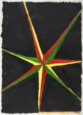 CHRIS MARTIN Seven Pointed Star (Black) (Basel)