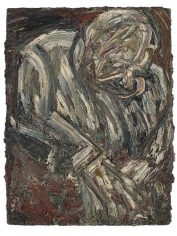 LEON KOSSOFF Father Seated in Armchair no. 2