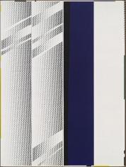 ROY LICHTENSTEIN Mirror Four Panels #1