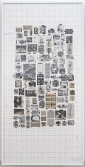 AMANDA ROSS-HO Untitled Textile #1 (B & W)
