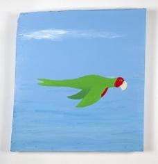 CHRIS JOHANSON Parrot painting #5