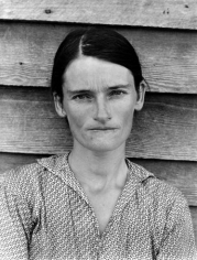 Walker Evans, Tenant Farmer's Wife, Alabama, 1936, Gelatin silver print, 10h x 8w in, from the Ives/Sillman Portfolio