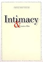 Intimacy & the Creative Pair